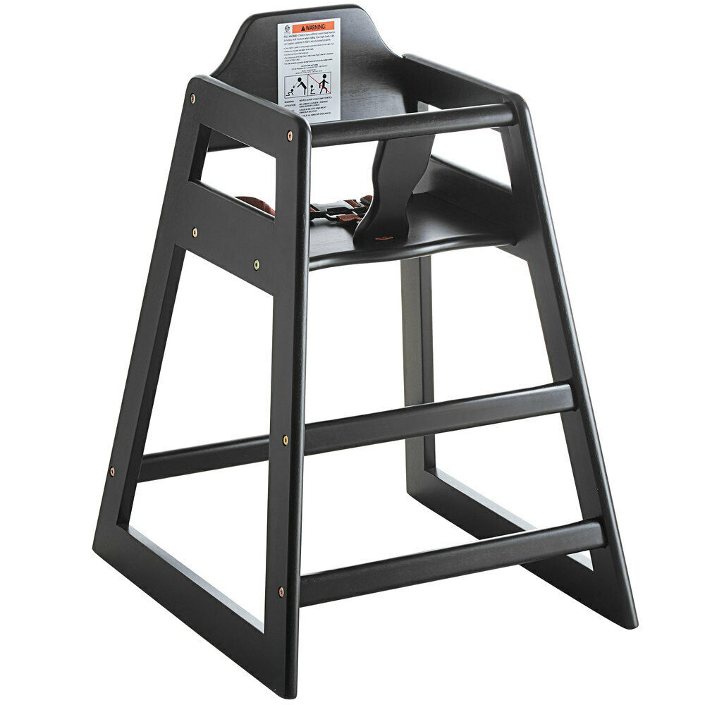 new restaurant style wooden high chair 10 rebate only