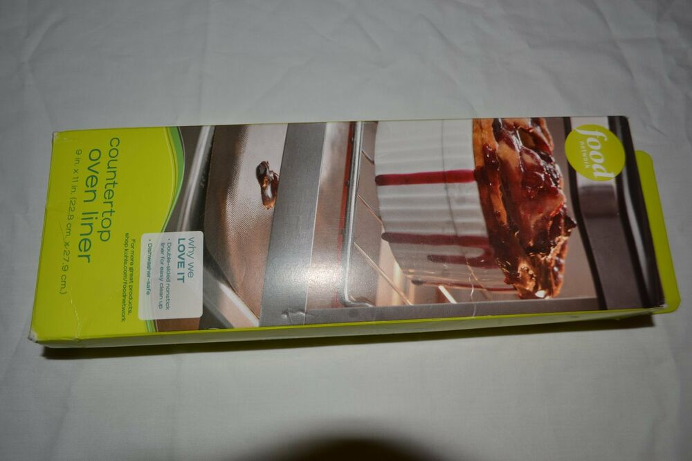 Food Network Countertop Oven Liner : COUNTERTOP OVEN LINER NWT NEW IN BOX FOOD NETWORK eBay