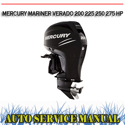 mercury outboard service manual free