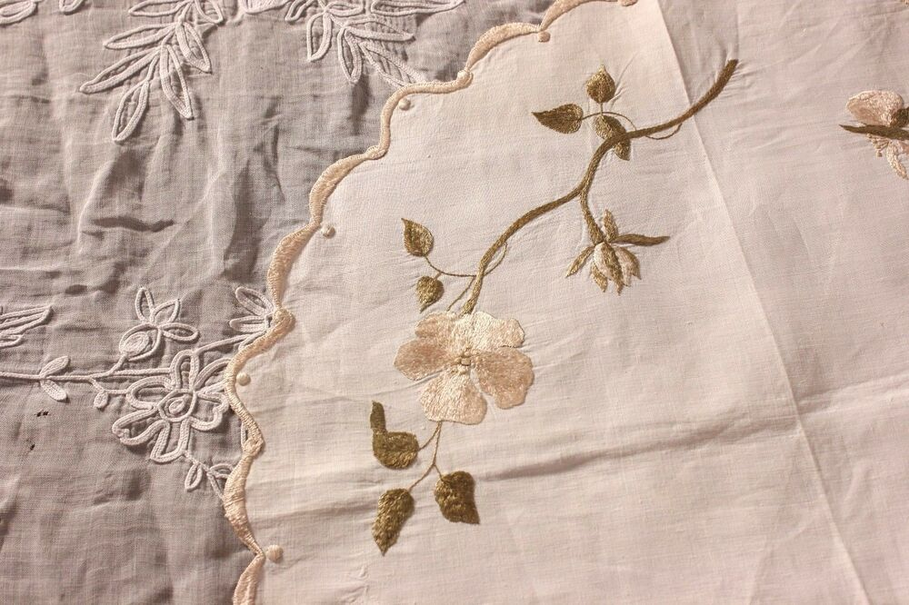 silk embroidered linen te9385 - photo #16
