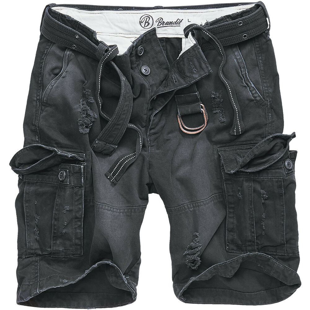 Brandit Shell Valley Mens Vintage Shorts Security Heavy ...