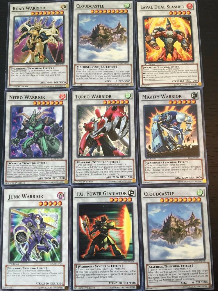 yu gi oh 10 synchro monster cards pack with rares. Black Bedroom Furniture Sets. Home Design Ideas