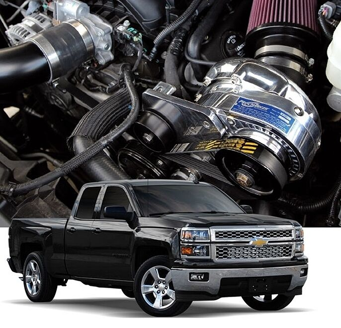 Chevy GM Truck/SUV Procharger 5.3L 6.2L P-1SC-1 ...