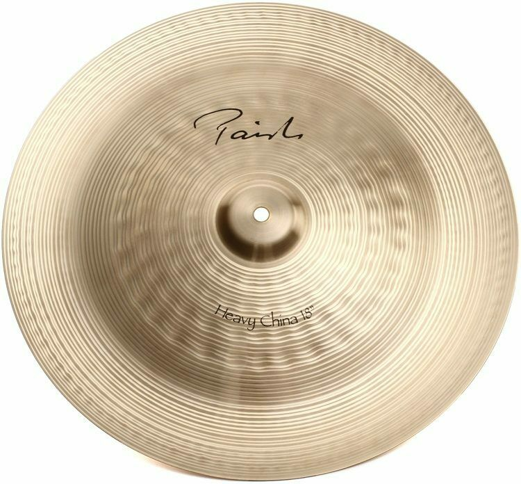 paiste signature 18 heavy china cymbal brand new with warranty 697643102163 ebay. Black Bedroom Furniture Sets. Home Design Ideas