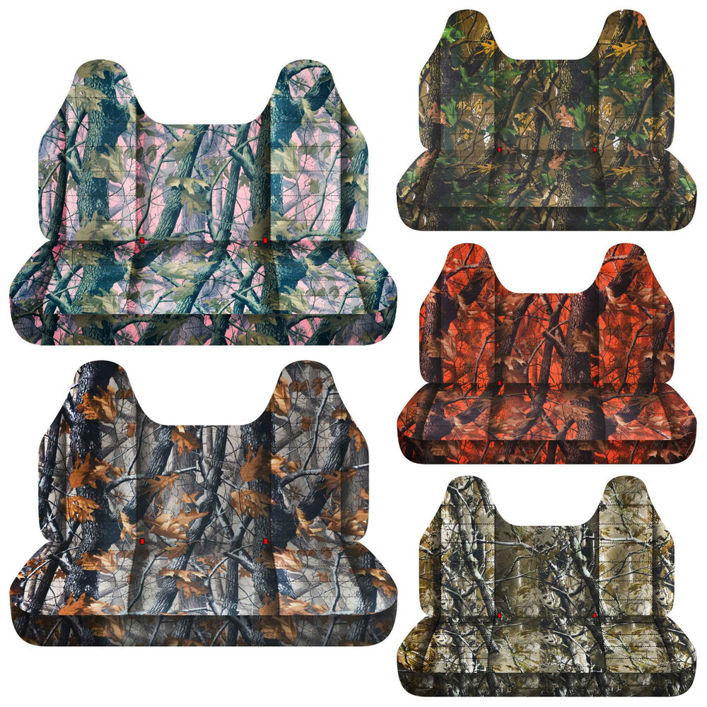 Cc Camouflage Bench Seat Cover With Molded Headrest 24