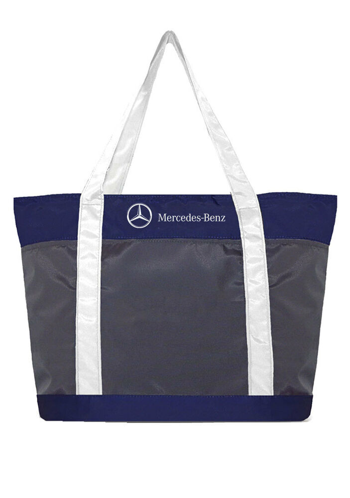 Mercedes benz nylon beach tote ebay for Mercedes benz backpack