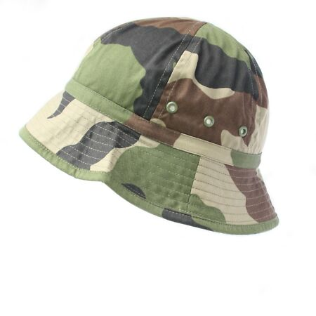 img-French Army / Foreign Legion CCE Camo Jungle Bush Hat Combat Field Boonie Cap