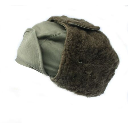 img-French Military Army / Foreign Legion cold weather Winter Arctic trapper hat Cap