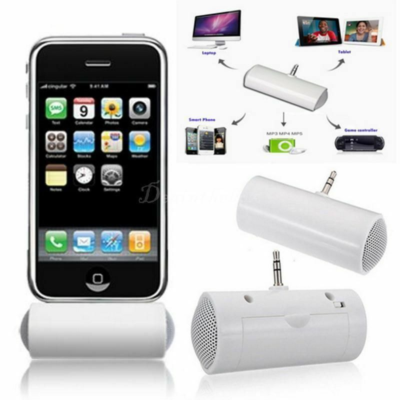 mini portable stereo speaker for ipod iphone mobile cell phone music mp3 mp4 ebay. Black Bedroom Furniture Sets. Home Design Ideas