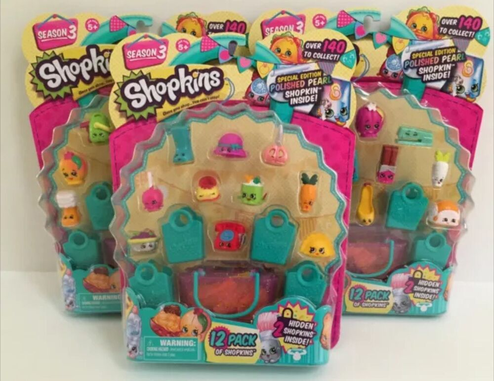 shopkins season 3 limited edition jewelry shopkins season 3 one 12 pack special edition polished 3692