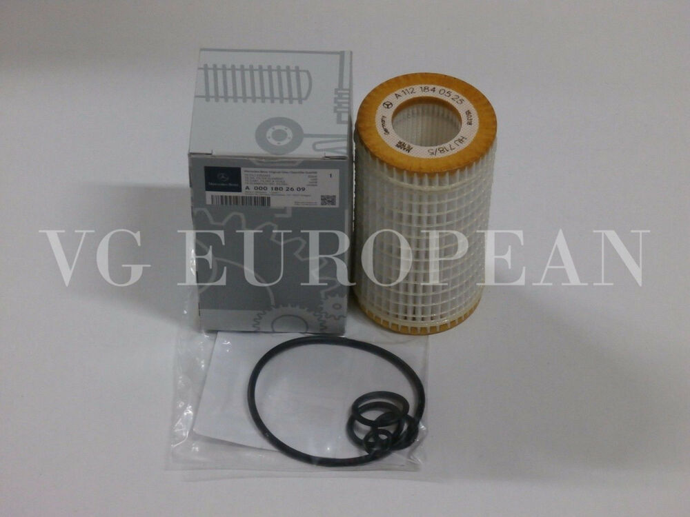 Mercedes benz c cl clk cls e g gl glk ml r s genuine for Mercedes benz oil filters
