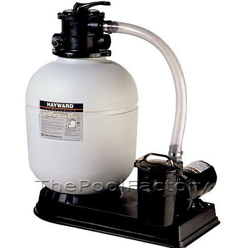 Hayward s180t above ground swimming pool sand filter system with 1 5 hp pump ebay - Sandfilterpumpe fur pool ...