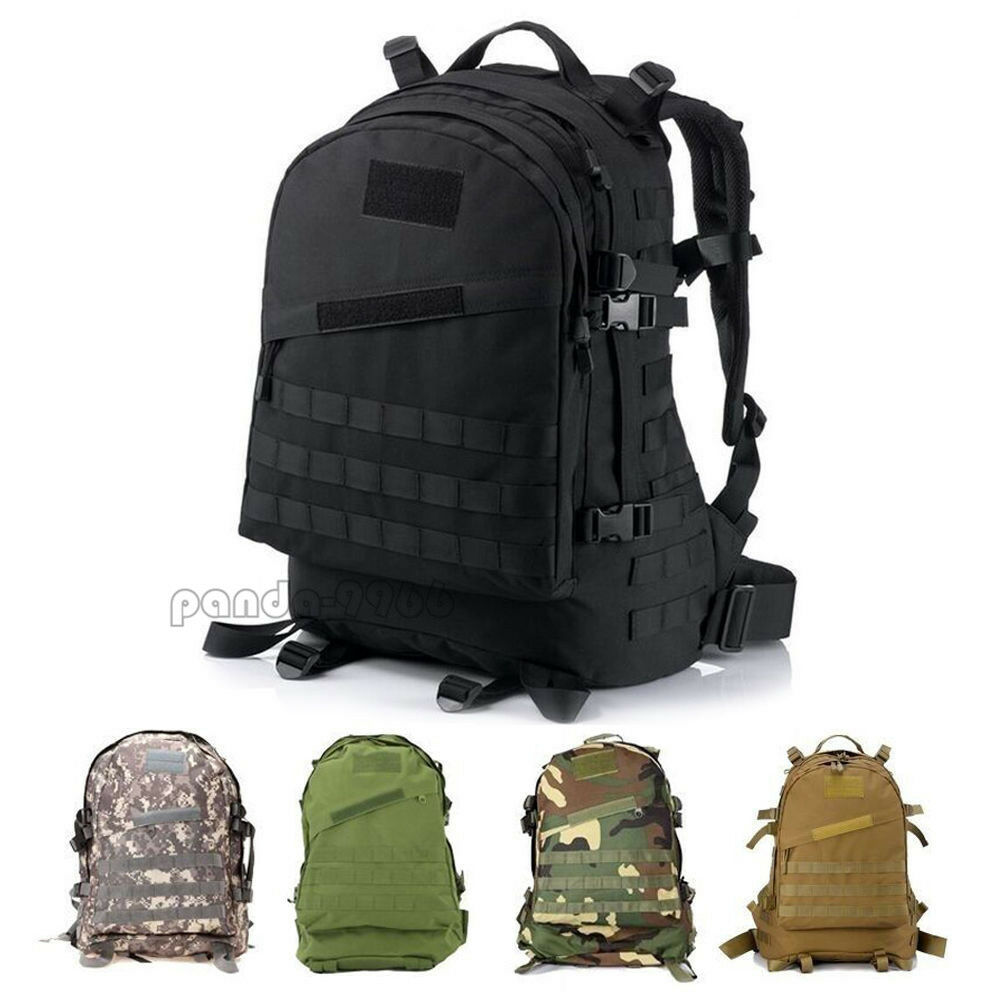 40l 3d outdoor tactical camping bag military backpack for Outdoor rucksack