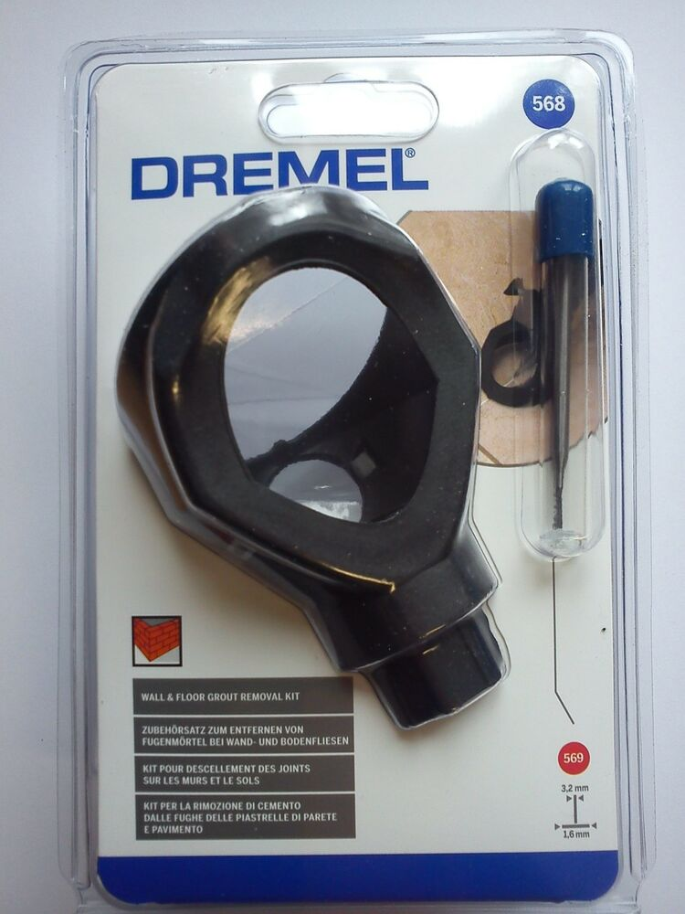 Dremel 568 Wall Amp Floor Grout Removal Kit Dremel 568 Kit