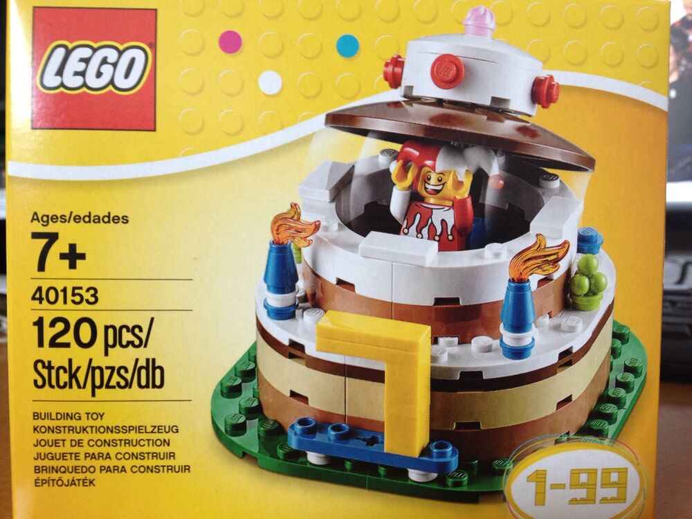 Lego 40153 creator exclusive birthday table decoration ebay for Decoration lego