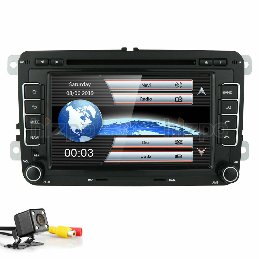 vw jetta passat car stereo gps ipod dvd player radio canbus camera volkswagen ebay. Black Bedroom Furniture Sets. Home Design Ideas