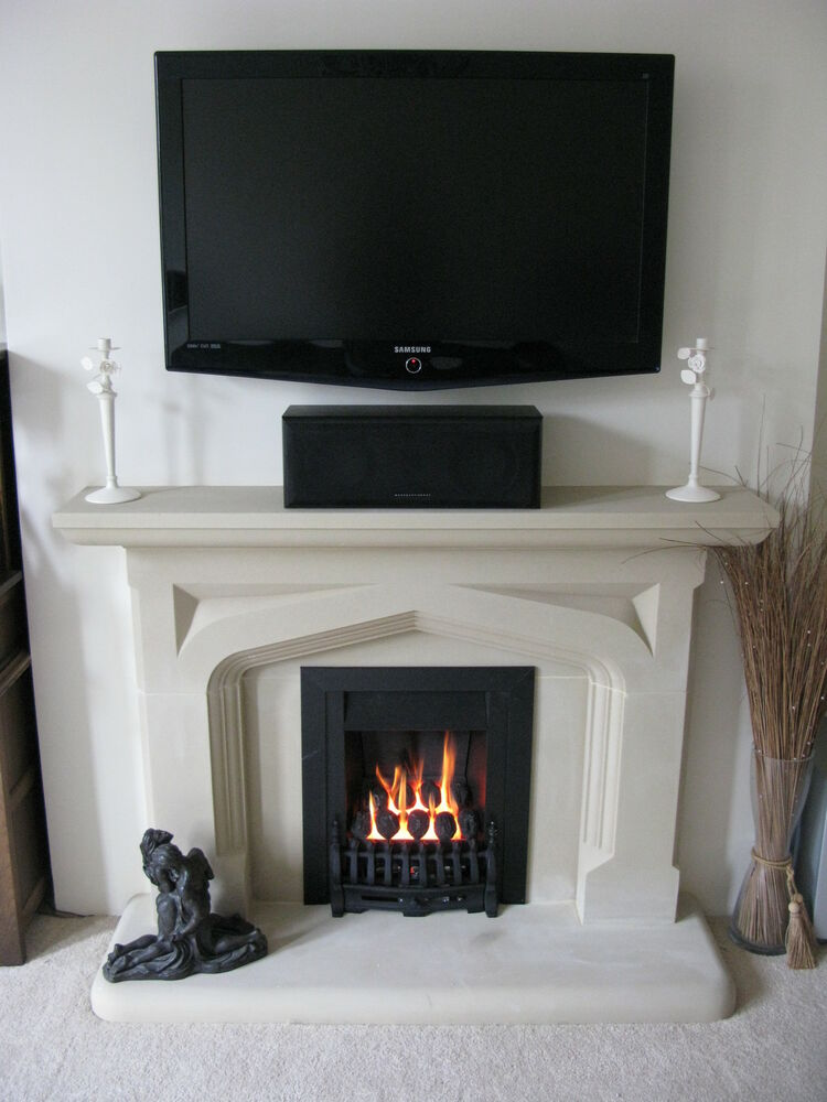 The Portland Stone Ferndale Stone Fireplace Fire Place Surround Ebay