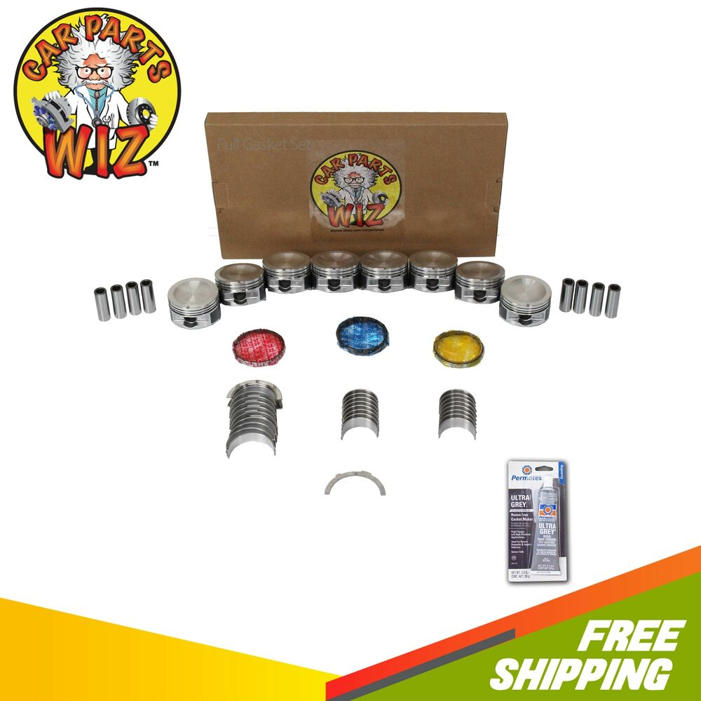 Ford F 150 2000 Remanufactured Complete: Engine Rebuild Kit Fits 2000 Ford E-150 F-150 4.6L SOHC