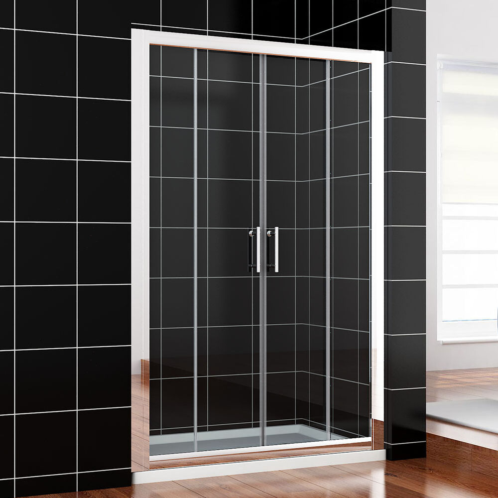 1700mm chrome sliding double shower doors walk in for 1300 mm sliding shower door