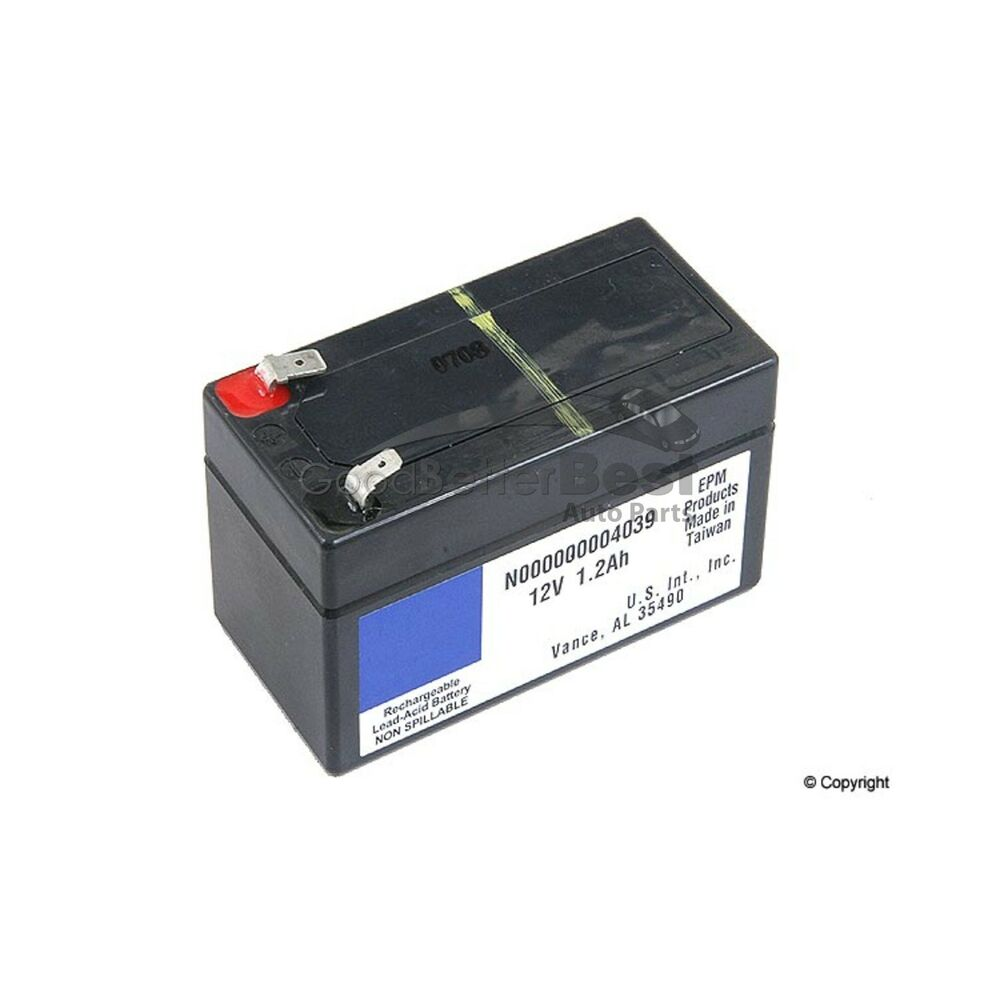 New genuine auxiliary battery 000000004039 mercedes mb ebay for Genuine mercedes benz battery