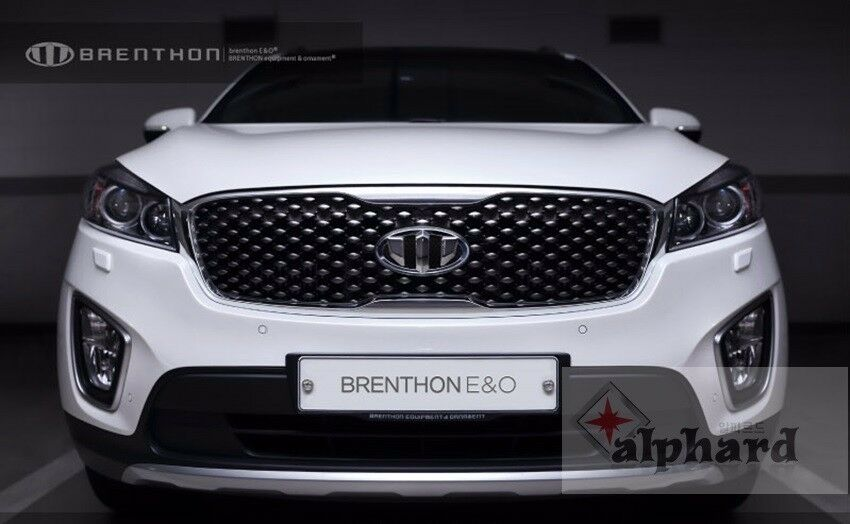 2016 Kia Optima Accessories >> BRENTHON Black Emblem 7pcs Full Set for 2016 2017 KIA SORENTO | eBay