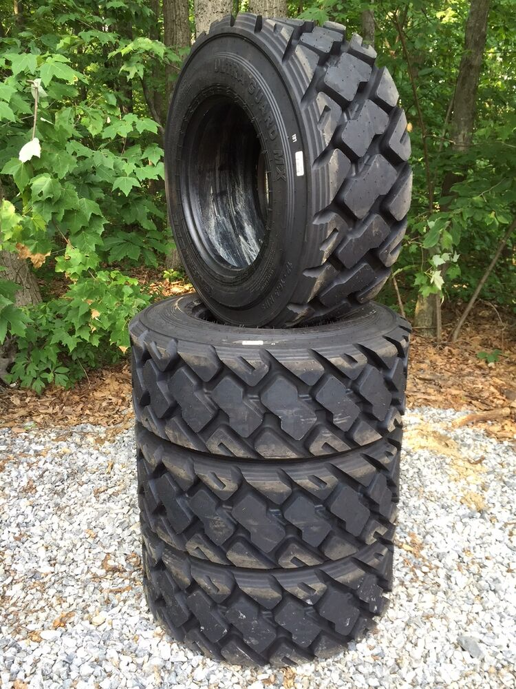 Tires Made In Usa >> 4 HD 12-16.5 Carlisle Ultra Guard MX Skid Steer Tires 12X16.5-14 PLY-Made in USA | eBay