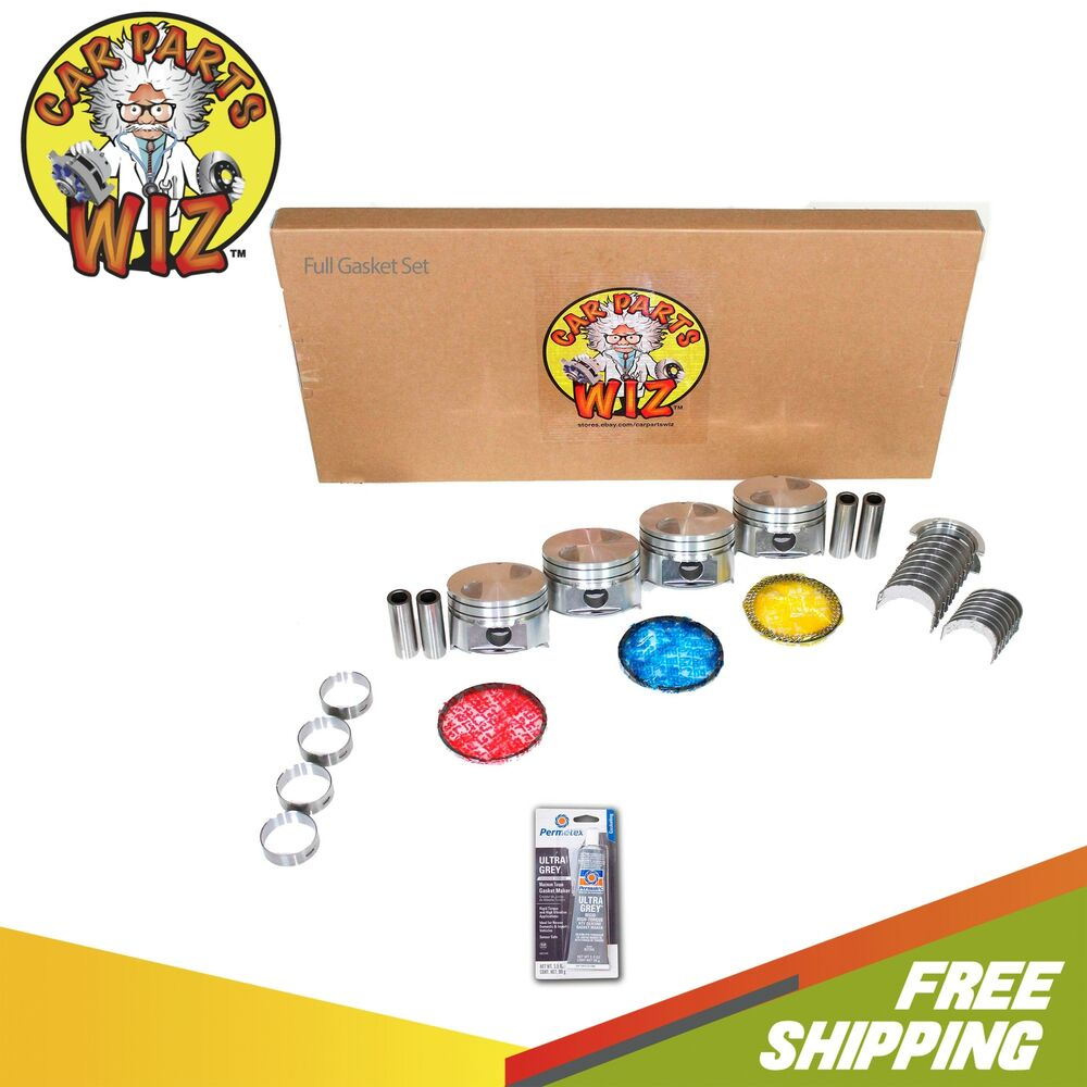 Ford 2 3 Engine Rebuild: Engine Rebuild Kit Fits 89-92 Ford Ranger 2.3L SOHC 8v Cu