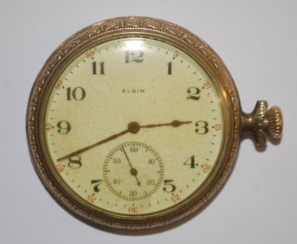 antique elgin 15 jewels pocket ebay