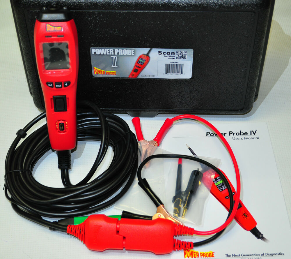 Power Probe Circuit Tester : Power probe iv diagnostic circuit tester fuel injector