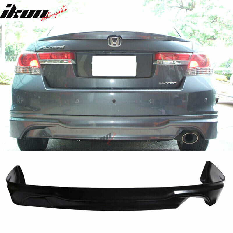 11 12 Honda Accord Sedan Oe Type Urethane Rear Bumper Lip