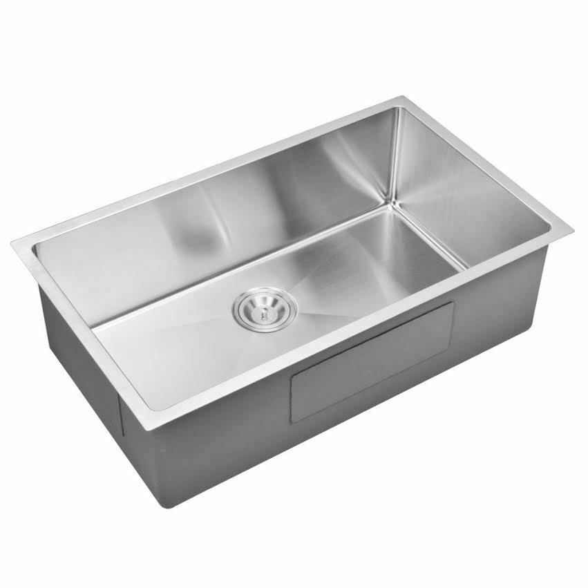 ... Bowl Undermount 16 Gauge 304 Stainless Steel Kitchen Sink eBay