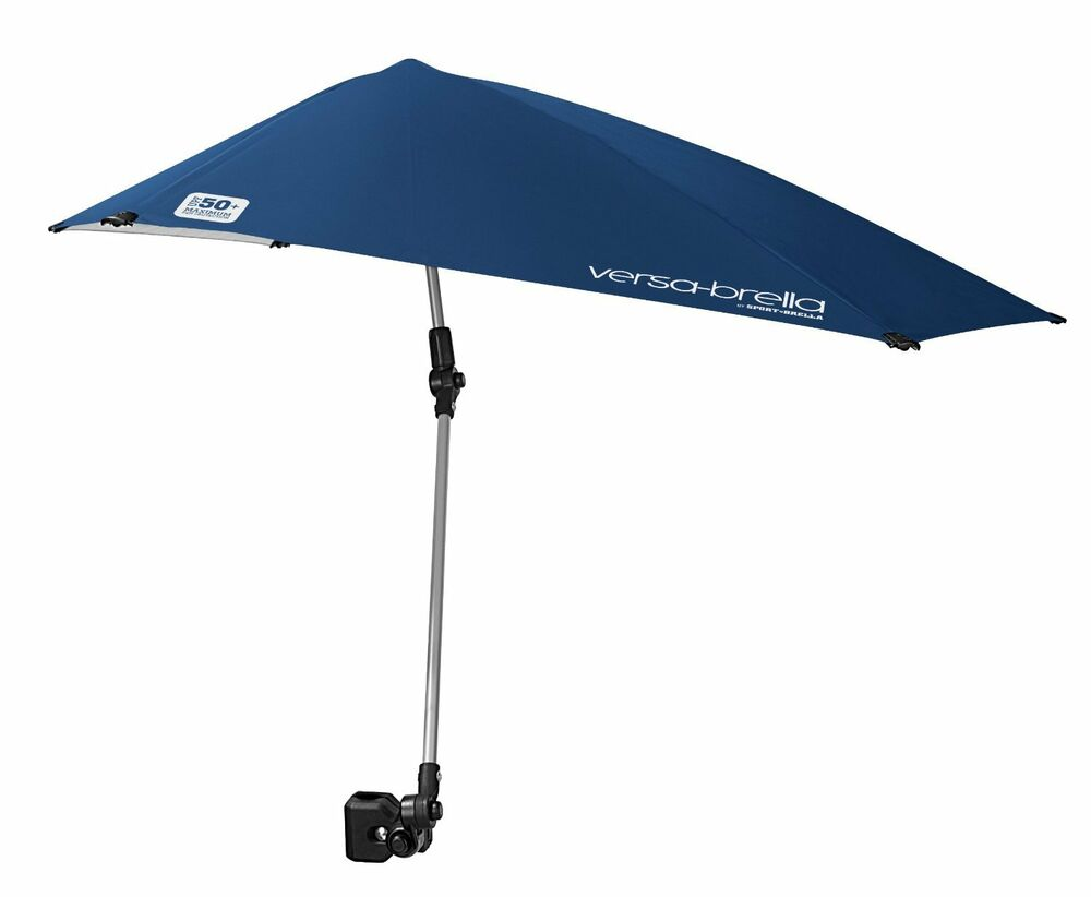 Sport Brella Versa Brella Umbrella Blue Beach Patio