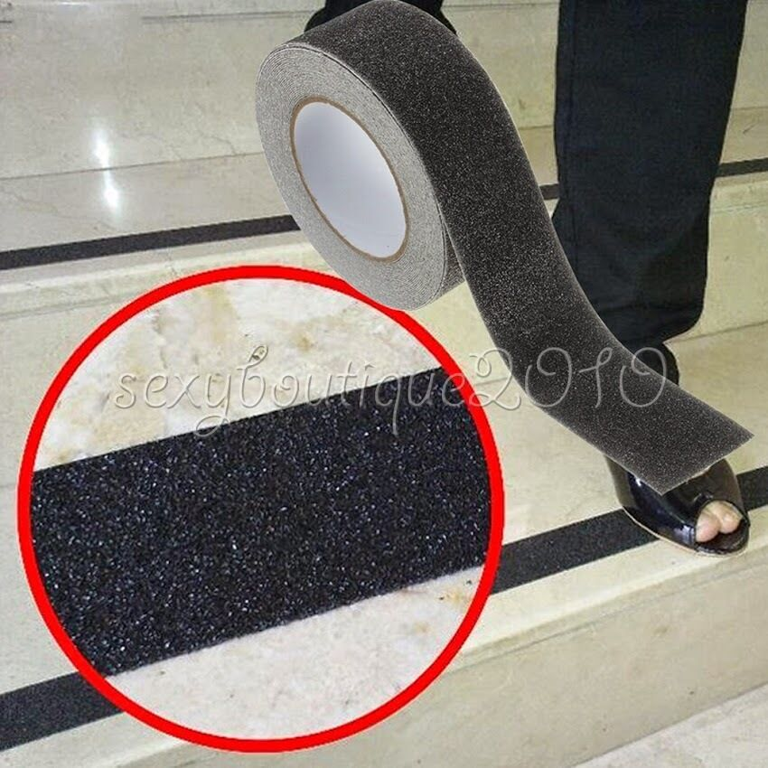 Floor Non Slip Stair Treads Black Safety Anti Skid Tape