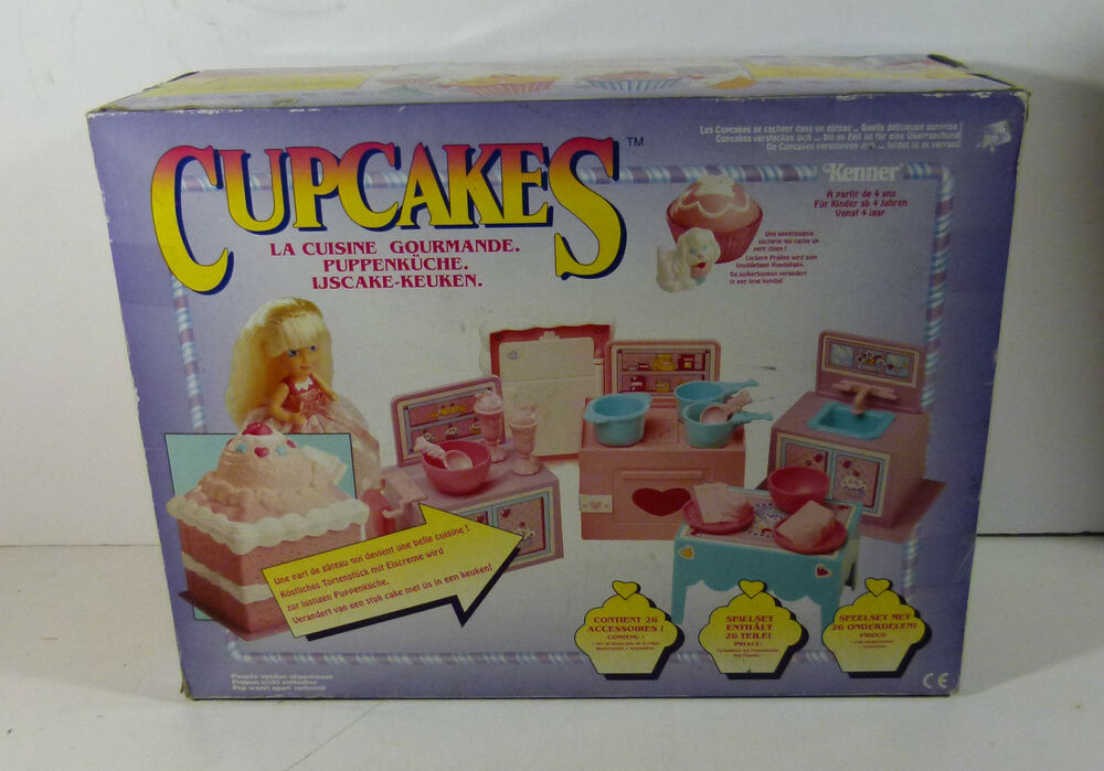 Sweat treat cake and ice cream kitchen cupcakes 1991 for Kitchen set cake
