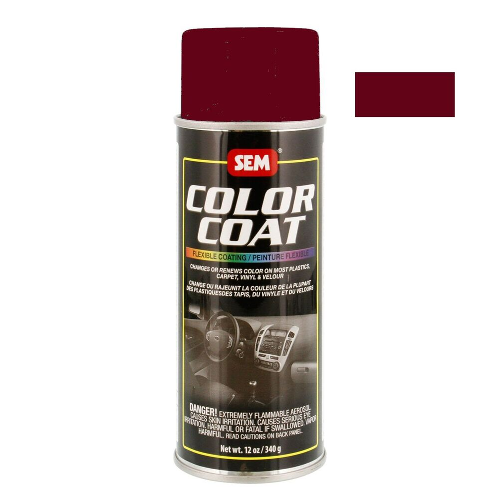 Sem Color Coat System 15273 Napa Red Aerosol Vinyl Spray Paint 12oz Can Ebay
