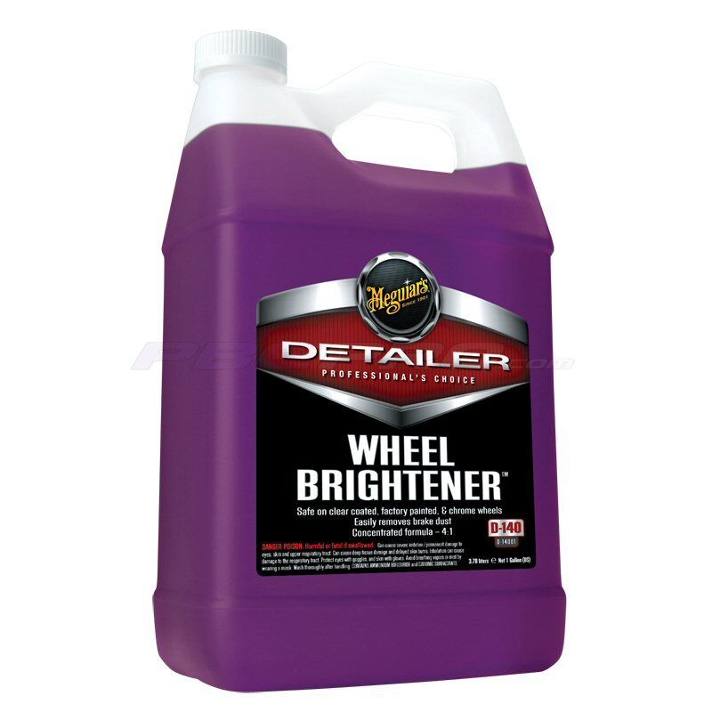 meguiars detailing products d14001 auto wheel brightener cleaner 1 gallon ebay. Black Bedroom Furniture Sets. Home Design Ideas