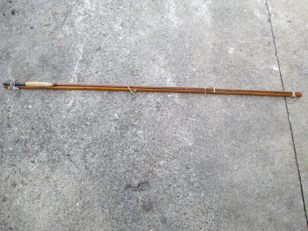 Unusual vintage j dalzell fishing rod spliced ends in for Nice fishing rods