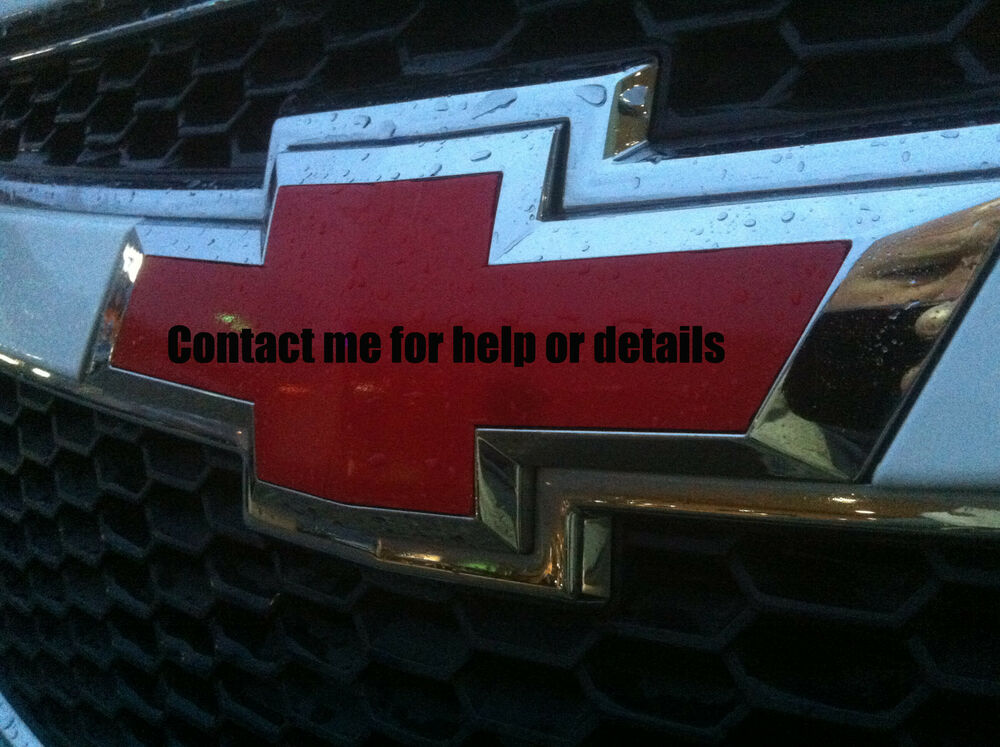 Red White Blue Chevy Decal Autos Post