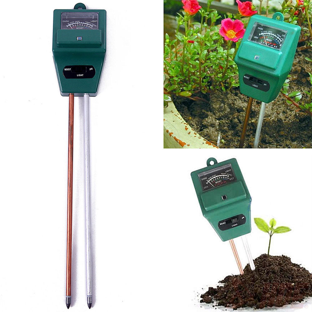 Soil water light meter garden hydroponic tool ph acidity for Gardening tools philippines