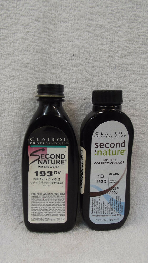 Clairol Second Nature Corrective Color
