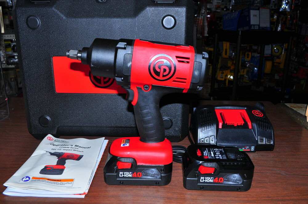 """New ! 20V 1/2""""Drive Cordless Impact Wrench Kit 2 LIi-Ion"""