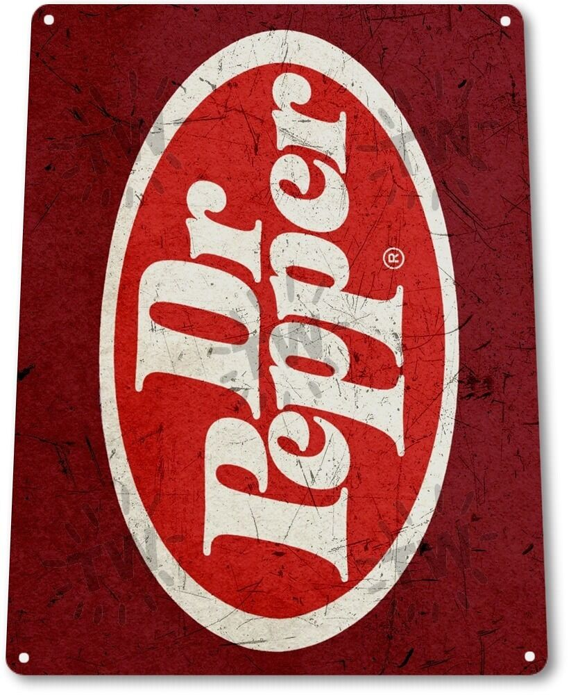 "Kitchen Signs For Sale: TIN SIGN ""Dr Pepper Old"" Metal Decor Wall Art Kitchen"