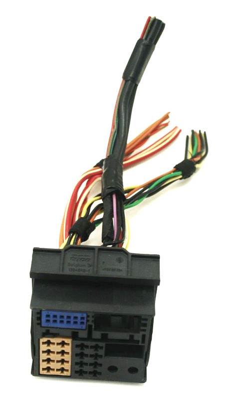 radio head unit wiring harness plugs pigtails 01 05 vw. Black Bedroom Furniture Sets. Home Design Ideas