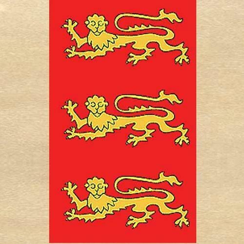 MEDIEVAL KNIGHT King Richard The Lionheart FABRIC WALL BANNER FLAG 3' X 5' New