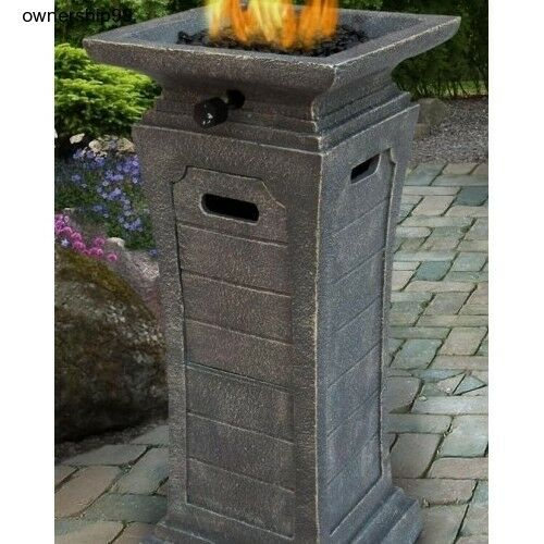 Image Result For Uniflame Lp Gas Fire Pit Table Top Column