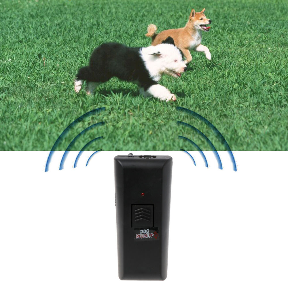 ultrasonic anti bark control trainer device stop barking