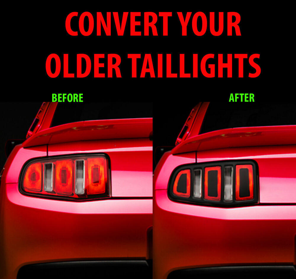 2010 2011 2012 ford mustang taillight conversion kit. Black Bedroom Furniture Sets. Home Design Ideas