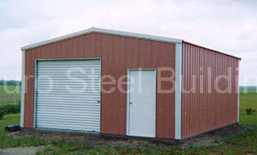 Durobeam steel 30x36x10 metal building prefab kits direct for Garage workshop buildings