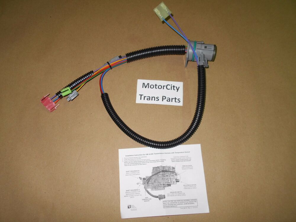 Components Of Wiring Harness : Internal wire harness manufactured oem components fits