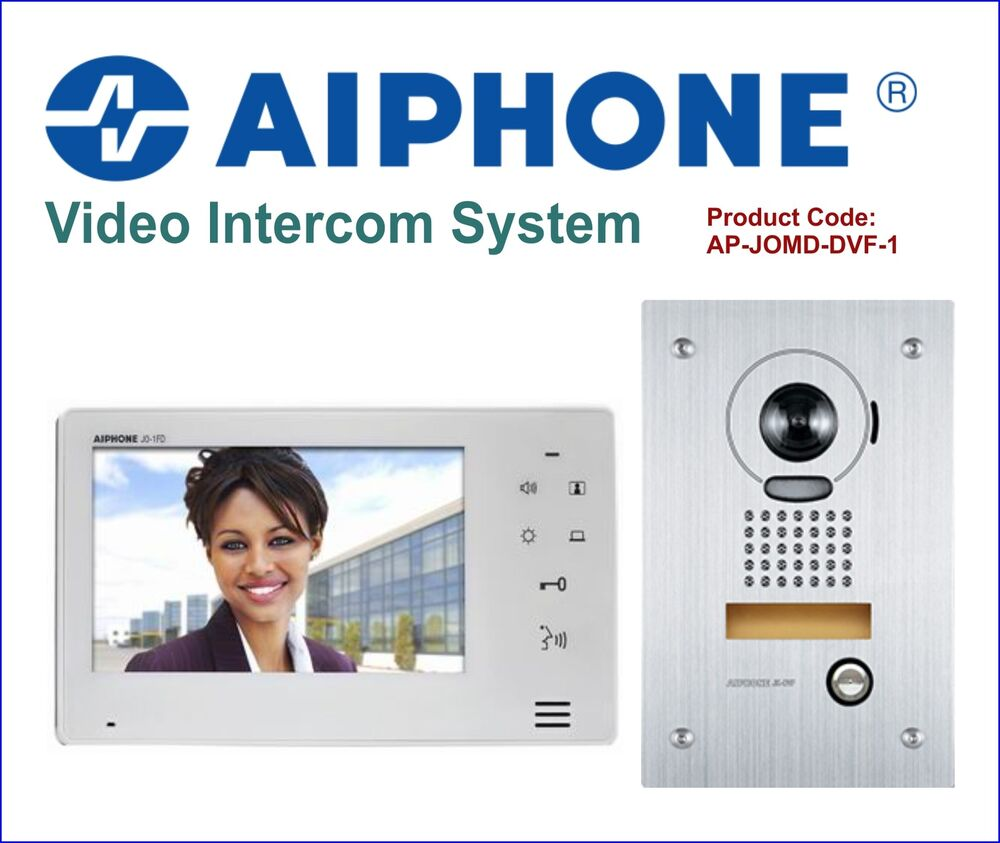 Aiphone 7 Quot Colour Video Intercom System With Stainless